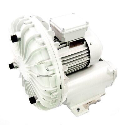 Fuji Electric Vfd6-h 3.6 Hp Regenerative Blower 460v 2 Inletoutlet 200 Cfm