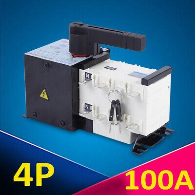 400v 100amp Generator Automatic Transfer Switch 4p 5060hz Dual Power Pc Level