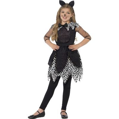 Smi - Kinder Kostüm Mitternacht Katze Karneval Halloween