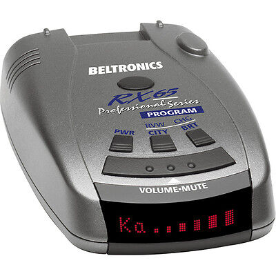 Beltronics RX65 Red Professional Series Radar/Laser Detector