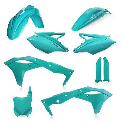 Acerbis MX Bike Full Plastics Kit - Kawasaki KXF250 17-18 - Teal