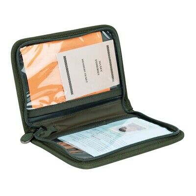 Fox Camolite License Wallet Fishing License and Document Case - CLU406