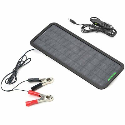 ALLPOWERS 18V 5W Portable Solar Car Battery Charger Bundle w