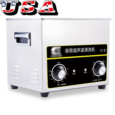 2l3.2l Ultrasonic Cleaner Solution Bath Wash Parts Tools Cutter Jewelry Dental