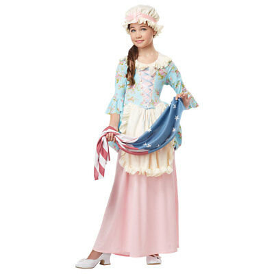 Girls Colonial Lady Halloween Costume](Girls Colonial Costumes)