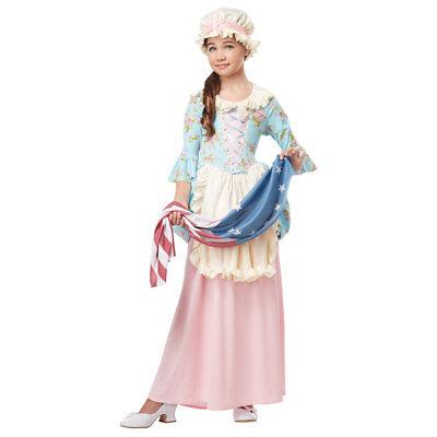 Girls Colonial Lady Halloween Costume