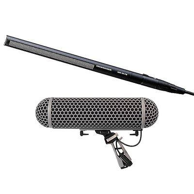Sennheiser MKH416 P48 Condenser Shotgun Microphone and Rode