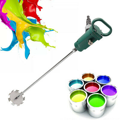 Handheld Portable Pneumatic Paint Mixer Air Agitator Blender Cement Coating 250l