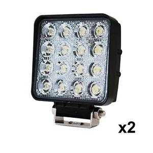 AUS FREE DEL-2x 80W LED Work Light Flood Lamp Offroad Tractor 4WD Sydney City Inner Sydney Preview