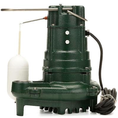 Zoeller M137 - 12 Hp Cast Iron Effluent Pump W Vertical Float Switch
