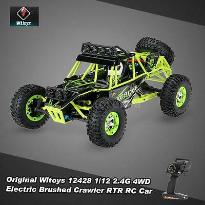 Hot Sale Wltoys 12428 1 12 2 4G 4Wd Electric Brushed Crawler Rtr Rc Car U0j7