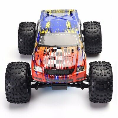 USA HSP 2.4Ghz 1/10 Scale Monster Truck 4WD Nitro Gas Power RC Car Off Road  ()