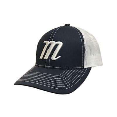 Marucci Snapback Hat - (White/Navy/White)
