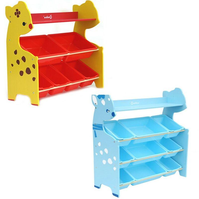 Large Kids Toy Chest Storage Organizer Lid Home Kid Playroom
