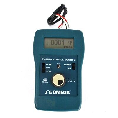 Omega Cl540 Thermocouple Source Simulatorcalibrator J-type Ez-dial Cl540j