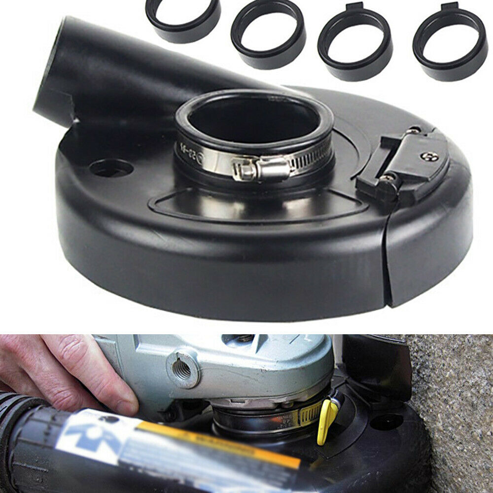 7 Quot Vacuum Dust Shroud Cover Convertible For Angle Grinder Hand Grind Us Stock Ebay