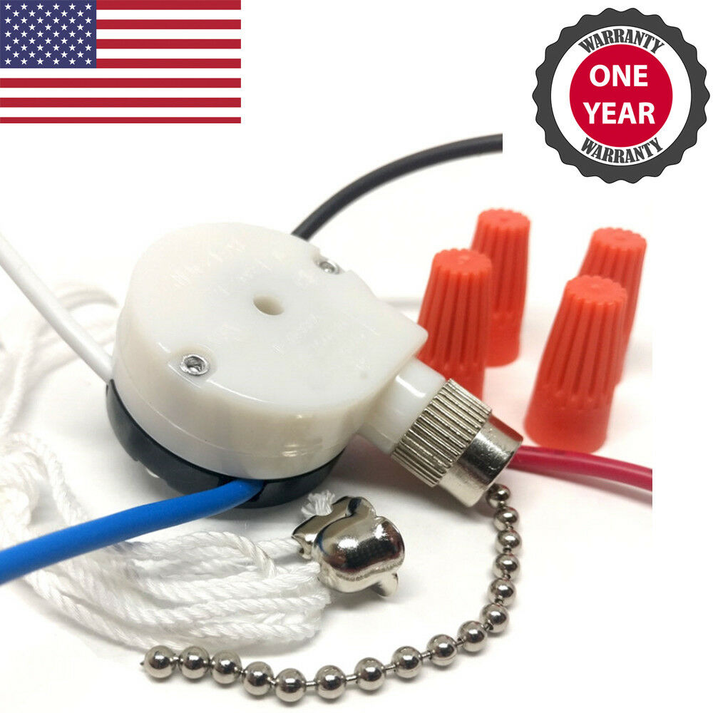 [ANLQ_8698]  Zing Ear ZE-208s 3 Speed 4 Wire Ceiling Fan Pull Chain Switch Speed  Controller | eBay | Zing Ear Ze 208s Wiring Diagram Color Code |  | eBay