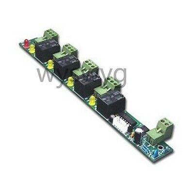 Alarm Fire Control Board For 1 2 4 door TCP IP RS485 Access control
