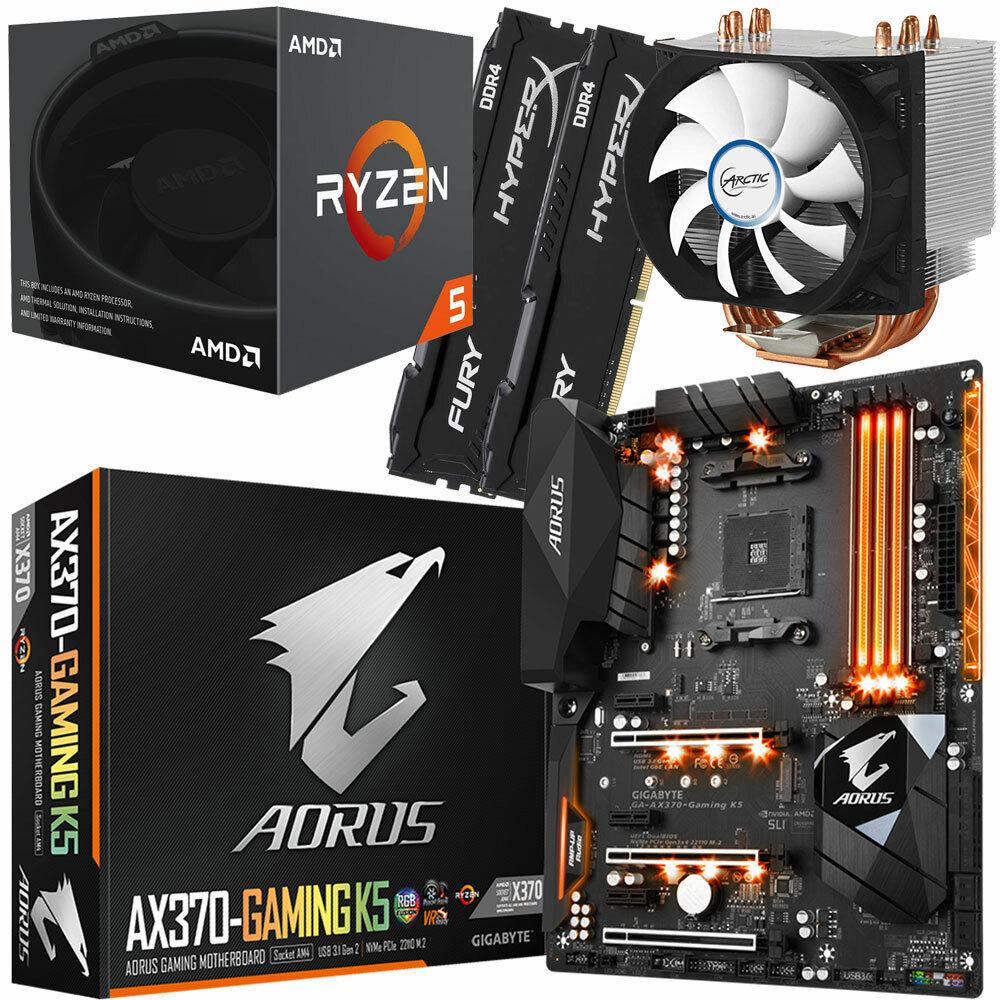 PC Bundle Kit AMD Ryzen 5 2600 - Gigabyte Aorus GA-AX370 ...