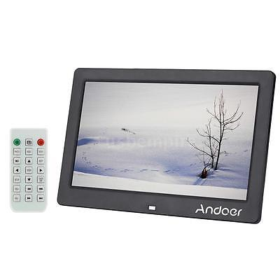 "10""inch LCD HD Digital Photo Frame Picture Mult-Media Player Christmas Gift DP2A"