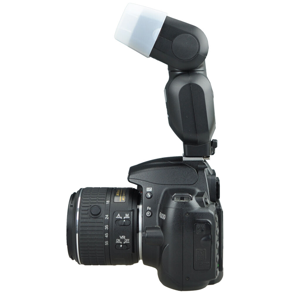 JJC Flash Bounce Diffuser Cap Box for Nikon SB500 SB 500 AF Speedlight