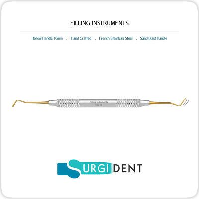 Filling Instruments Plastic Amalgam Composite Dental Hand Titanium Coating
