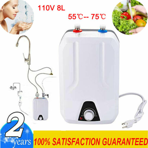 8L Instant Hot Water Heater Electric Tankless On Demand Hous