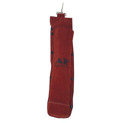 Ap-9110rd Red Fr Leather Welding Rod Holder Electrode Bag 5 Lb Capacity