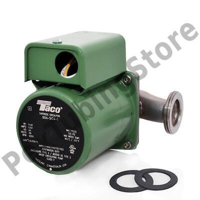 Stainless Steel Circulator Pump 1-14 Union 140 Hp 115v