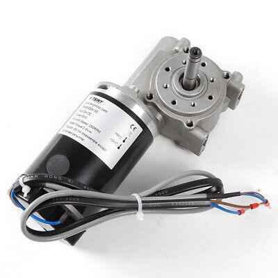 Worm Gear Reducer Gearbox Electric Gear Motor High Torque 25kg Cm Dc 24v 60w