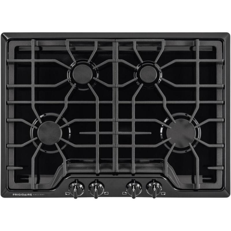 "Frigidaire Gallery 30"" Built-In Gas Cooktop Black FGGC3047QB"