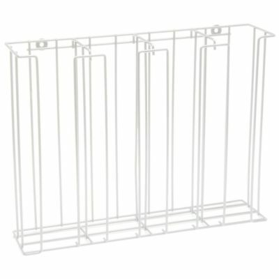 Lid And Cup Dispenser Cup And Lid Rack White 4-compartment Steel Wire - 20 12 L