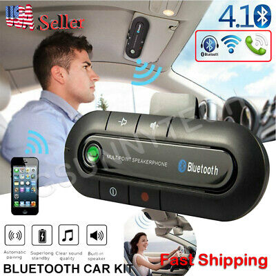 Bluetooth Wireless Handsfree Car Auto Kit Speakerphone Speaker for MP3 Phone