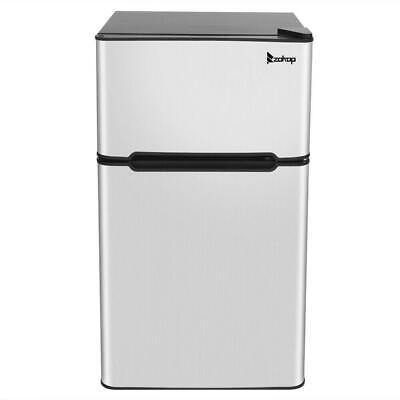 3.2 cu ft Mini Fridge Compact Refrigerator Freezer Dorm Stud