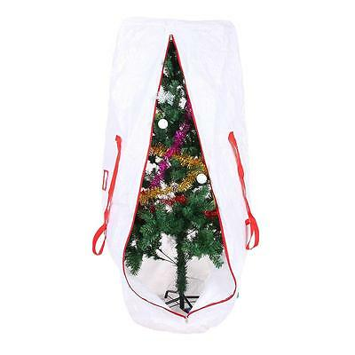9 FT Heavy Duty Large Artificial & Holiday Christmas Tree Storage Bag Clean Up