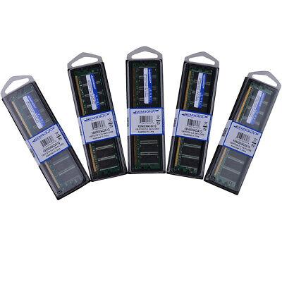 1GB DDR Ram pc2700/3200 Desktop Memory 300/400MHZ 184Pin Long-Dimm Ram Non-ECC  ()