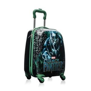 Marvel Black Panther Kids 18 Inch Spinner Carry On Travel Luggage for Boys