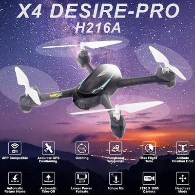 Hubsan X4 Pro H216A Drone FPV RC Quadcopter  Headless 1080P HD APP Follow Me USA