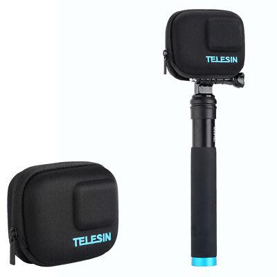 Black Mini Storage Carry Case Bag Box for GoPro Hero 5 6 Camera Accessories EVA