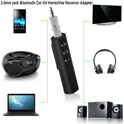 Universal 3.5 mm Jack Bluetooth Car Kit Adaptador Receptor Audio Música Manos ## segunda mano  Embacar hacia Mexico