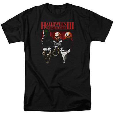 Halloween III Season of the Witch TRICK OR TREAT Licensed T-Shirt All Sizes