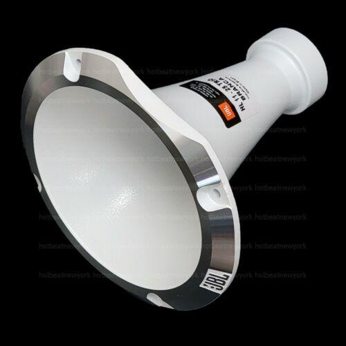 "JBL HL 11-25 TRIO BRANCA 1"" White Aluminum Metal Horn 45x45 Degree Dispersion"