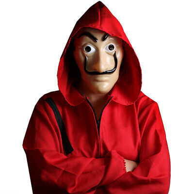 SALVADOR DALI MASK ARTIST HEIST TV HALLOWEEN COSTUME ACCESSORY FANCY DRESS