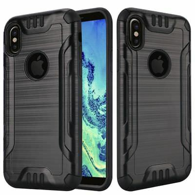 For Apple iPhone X 8 7 6S 6 iphone8 Plus Case Shockproof Protective Armor (Apple Iphone 8 Plus Vs Iphone X)