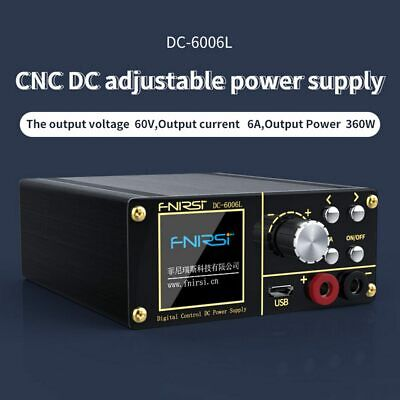 New 80w Hd Lcd Digital Control Dc Programmable Adjustable Power Supply Pd 60v 6a