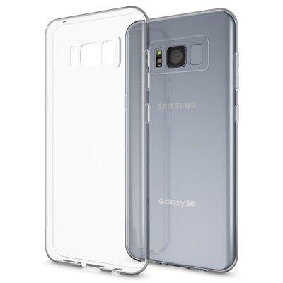 Samsung Galaxy S8 Handy Hülle von NICA, Silikon Case Cover Transparent Bumper