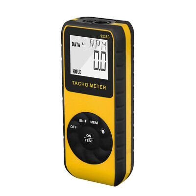 Digital Tachometer Laser Rpm Meter Lathes Motors No-contact Speed Checkers Handh