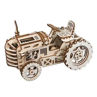 ROKR 3D-Holz-Puzzle Traktor Modellbausatz