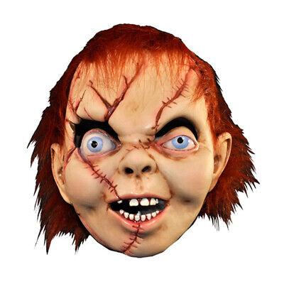 Chucky Latex Mask (Bride of Chucky Horror Movie Adult Latex Halloween)
