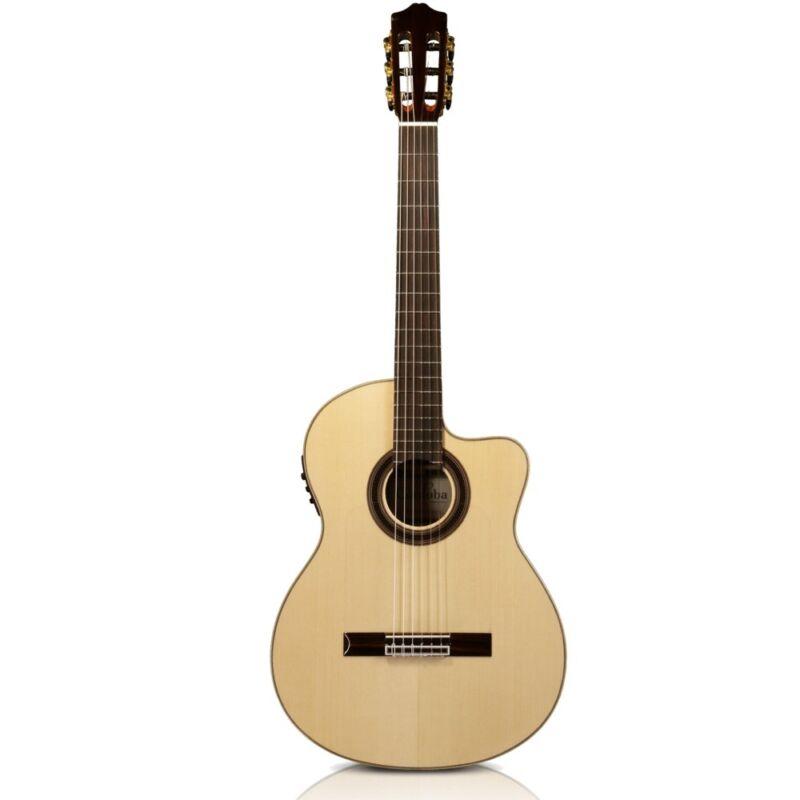 Cordoba GK Studio Negra Gypsy Kings Flamenco Acoustic-Electric Classical Guitar